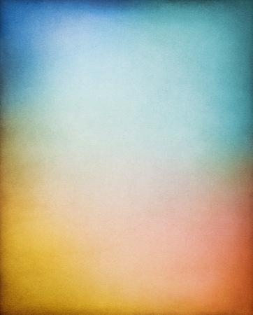 多色グラデーションのヴィンテージ紙の背景。イメージは 100 % で異なる紙穀物やテクスチャが表示されます。 写真素材