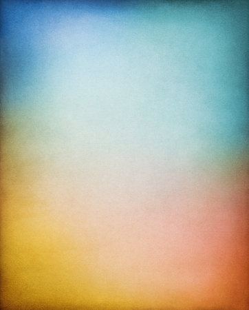 faded: A vintage paper background with multi-colored gradients.  Image displays a distinct paper grain and texture at 100 percent.