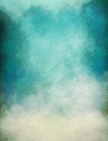 Rising fog and clouds on a paper background   Image displays significant paper grain and texture at 100 percent