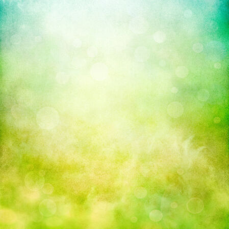 Swirling grunge patterns and textures with bokeh bubbles rising towards the sky   Image displays a strong paper grain and texture at 100 percent  photo