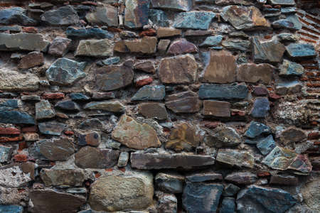 rockwall: Wall for a background Stock Photo
