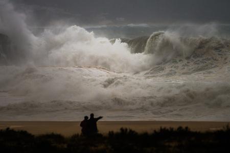 rogue: rogue wave at seaside