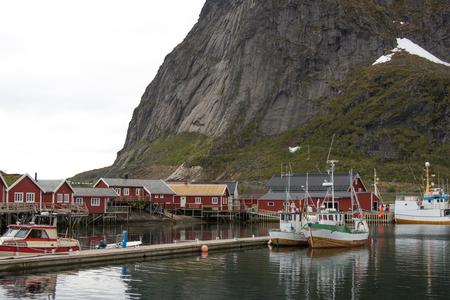 typical landscape in Lofoten