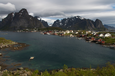 characteristic: typical landscape in Lofoten