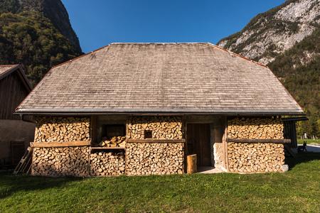 Nationalpark Triglav, Tolmin, Goriska, Slowenien, Europa, Oct. 2018, Herbstliche Stimmung in Trenta im Nationalpark