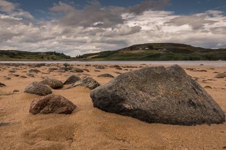 typical, rural landscape in the Scottish Highlands, United Kindom
