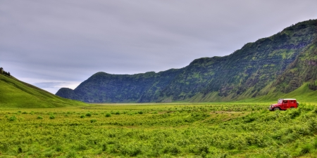savana: Savana At Bromo Tengger Semeru National Park, Indonesia