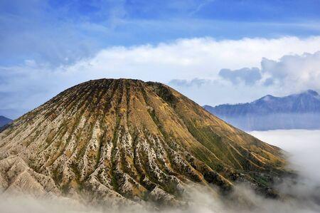 Mount Batok At Bromo Tengger Semeru National Park