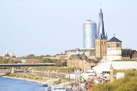 Dusseldorf. City. Altstadt. Carlstadt.