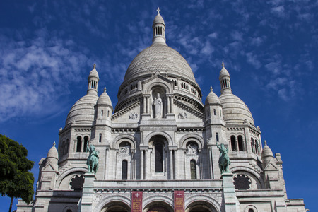 The Basilica of the Sacred Heart. Sacre-Coeur. Paris. France. Stock Photo