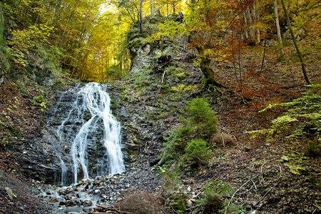 ruzomberok: Ruzomberok - Cutkovska Valley, Jamisne watterfall in Cutkovska valley.