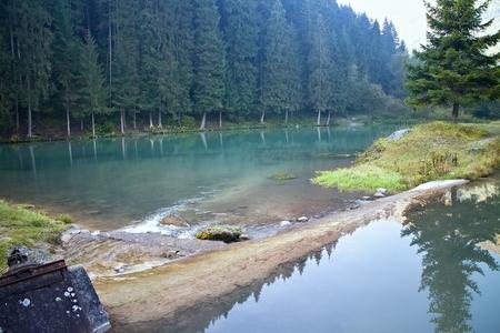 ruzomberok: Ruzomberok - Cutkovska valley - water reservoir at the beginning of the valley.