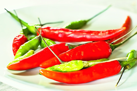 Thai Chilli pappers. Imagens