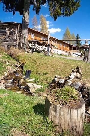 Surroundings Cottages Baranec in the Western Tatras in Ziarska valley.
