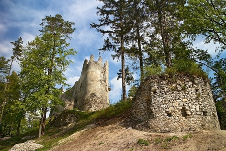 Great Fatra, Gader valley: Catle Blatnica.