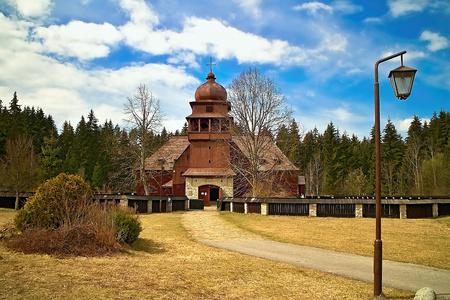 Wooden Articular Evangelical Church in Liptovsky Kriz