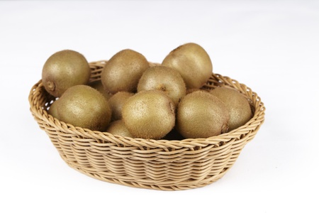 Basket with Kiwis