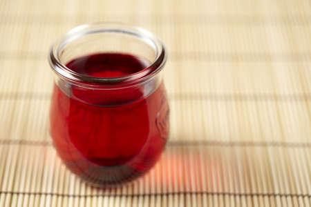 raspberry jelly: Raspberry jelly Stock Photo