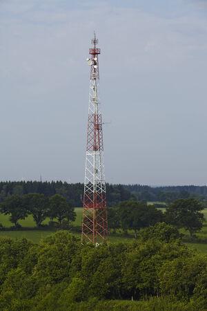 masr: A transmitting masr near the Kiel Canal at Beldorf in the rural district Rendsburg-Eckernfoerde (Germany).