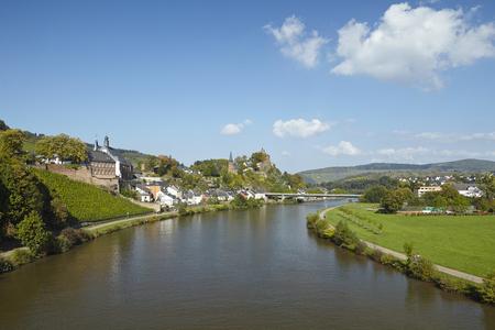 Total view of Saarburg (Rhineland-Palatinate, Germany) taken on October 3, 2014.