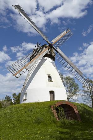 The windmill Heimsen (Petershagen, Germany) is a dutch type of windmill and is part of the Westphalia Mill Street (Westfaelische Muehlenstrasse).