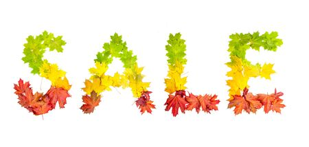colorfully: photo of colorfully leaves in shape of word LIFE on white background