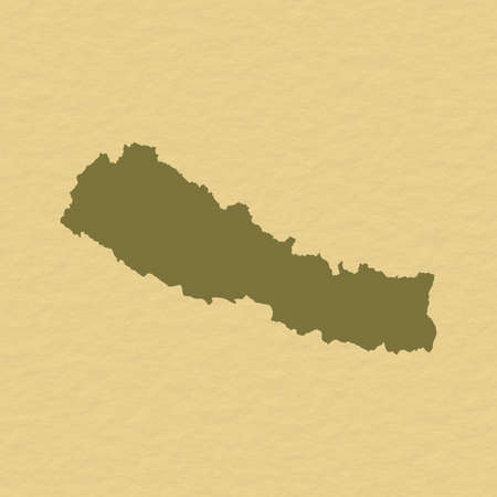 Political map of Nepal with the several zones. Stock Photo - 11241822