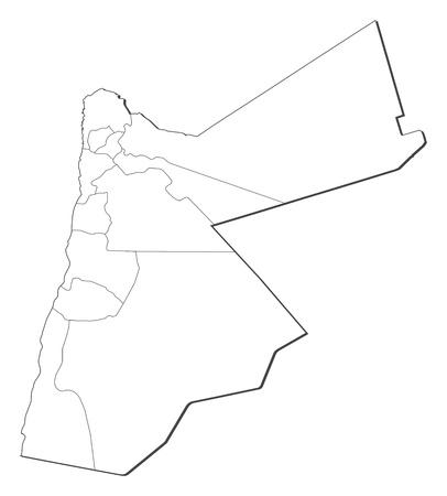 いくつかの地方行政区画と Jorda...