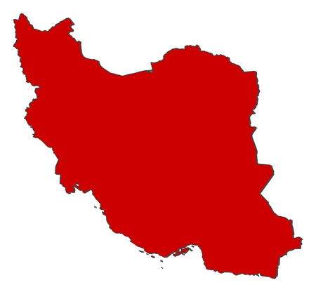 general maps: Political map of Iran with the several provinces.