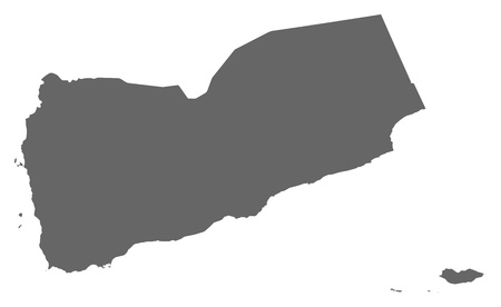 Political map of Yemen with the several governorates. Stock Vector - 13912544
