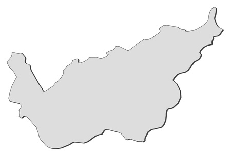 canton: Map of Valais, a canton of Switzerland.