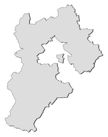 hebei province: Map of Hebei, a province of China.