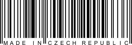 ean: Made in Czech Republic with a barcode (EAN).