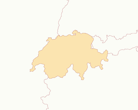swizerland: Map of Swizerland and nearby countries, Swizerland is highlighted.