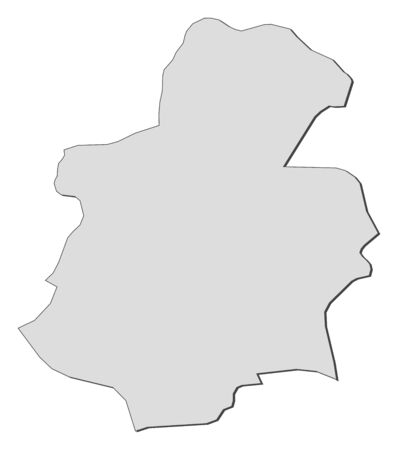 shady: Map of Luxembourg, a province of Luxembourg. Illustration