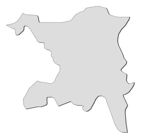 shady: Map of Aargau, a province of Swizerland.