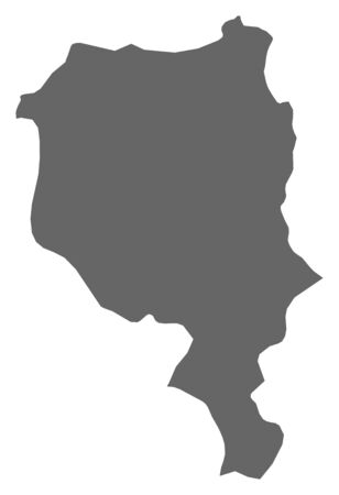 schweiz: Map of Ticino, a province of Swizerland.