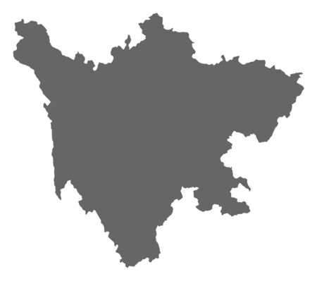 prc: Map of Sichuan, a province of China.