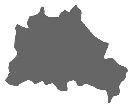 federal republic of germany: Map of Berlin, a province of Germany.