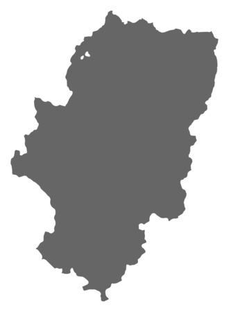 Map Of Aragon A Region Of Spain Royalty Free Cliparts Vectors
