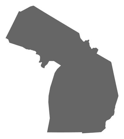 Map of Michigan, a province of United States.