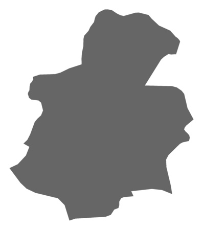belgie: Map of Luxembourg, a province of Luxembourg. Illustration