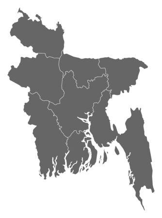 area: Map of Bangladesh as a dark area.