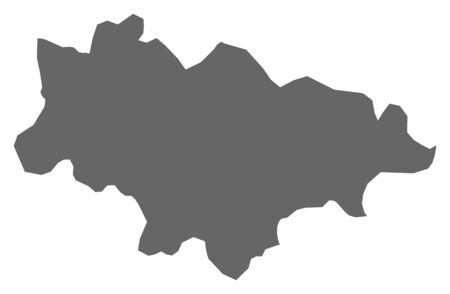 Map of Haskovo, a province of Bulgaria.