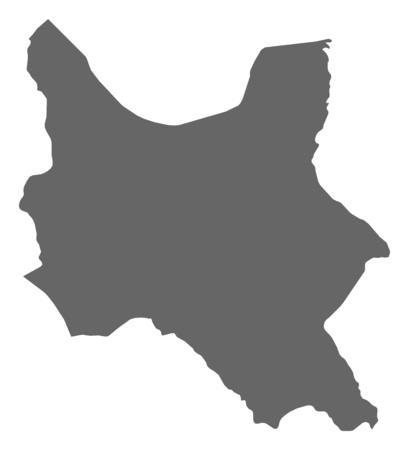 cochabamba: Map of Cochabamba, a province of Bolivia.