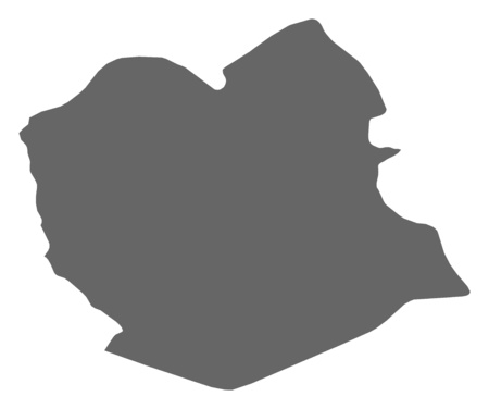 mapa de bolivia: Mapa de Oruro, una provincia de Bolivia.