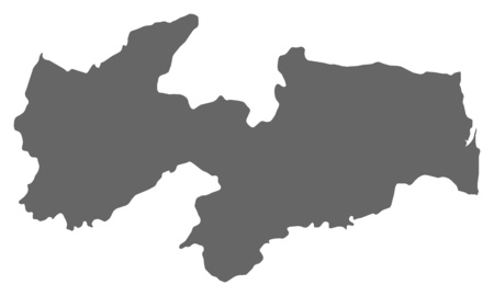 Map of  a province of Brazil.