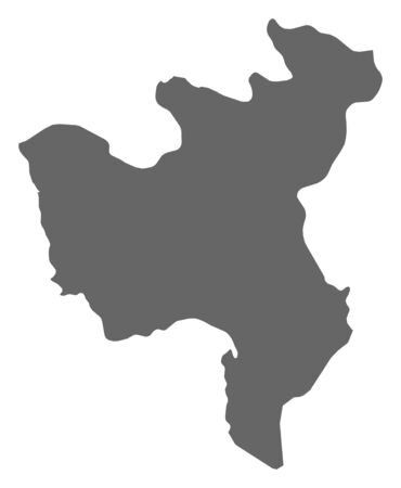 Map of North Hwanghae, a province of North Korea.