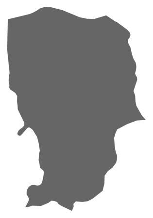 southwestern asia: Map of Amran, a province of Yemen.