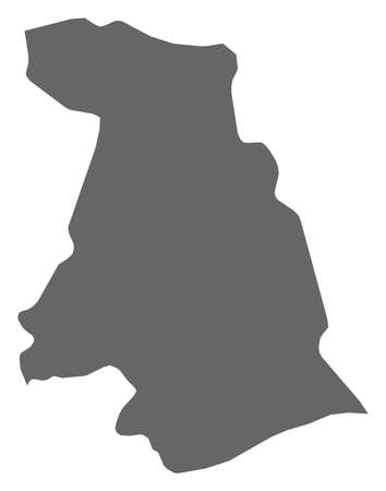 Map of Kotayk, a province of Armenia.
